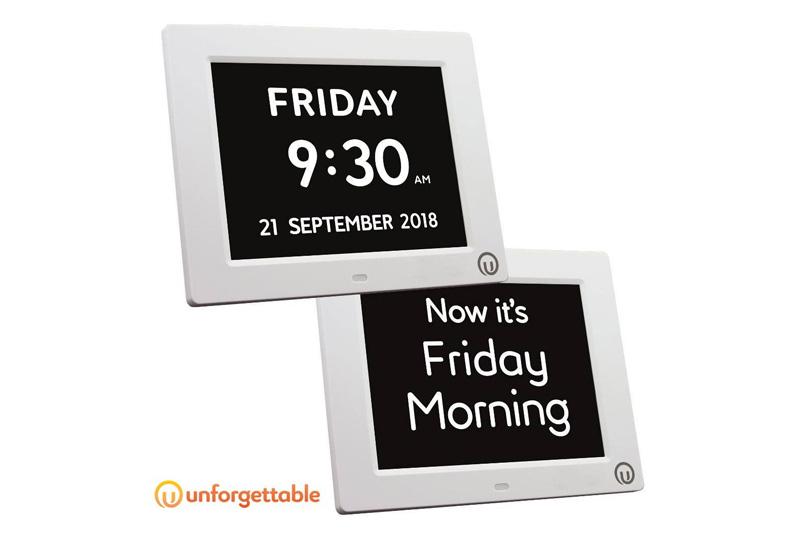 Unforgettable 2-in-1 Calendar & Day Clock £39.99