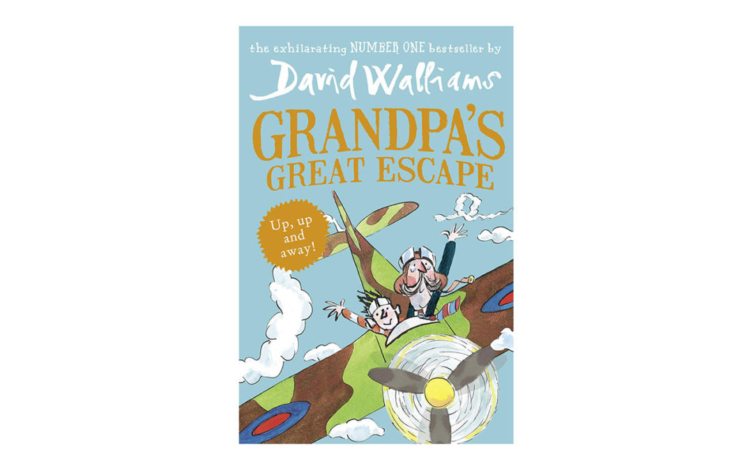 grandpas great escape, david walliams