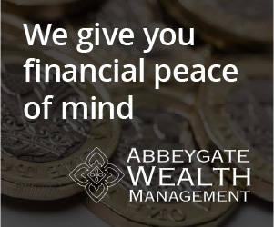 Abbeygate Wealth Management Advert